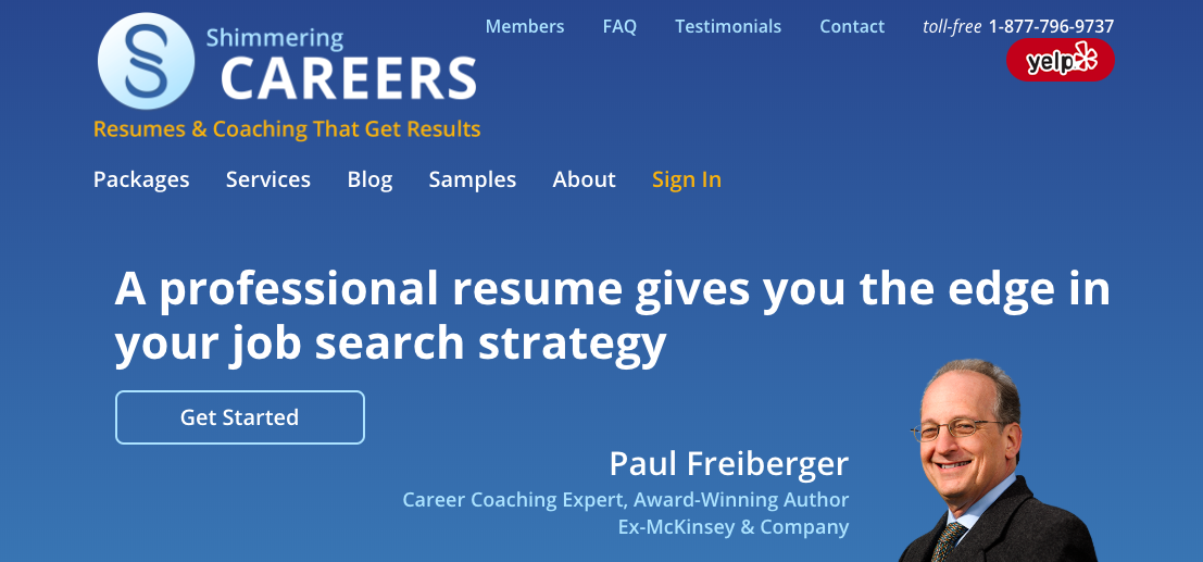 Shimmering Careers - Information Technology Resume Services