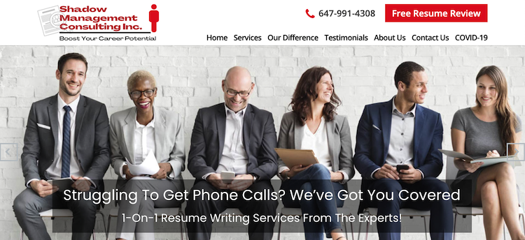 Shadow Management Consulting, Inc - Best Toronto Resume Services