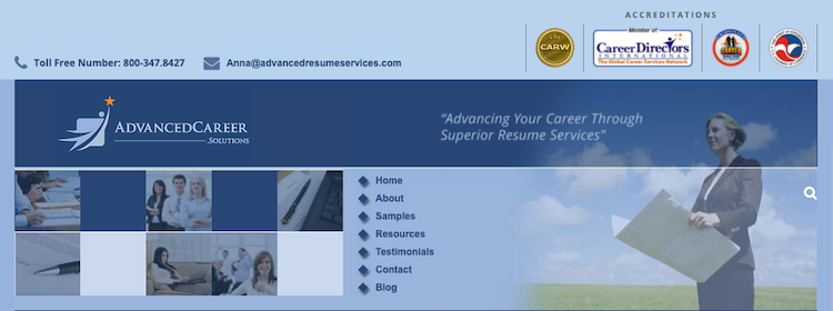 AdvancedCareer - Best Fresno Resume Service