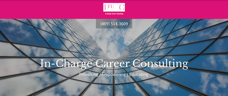 In-Charge Career Consulting - Best Dallas Career Coach
