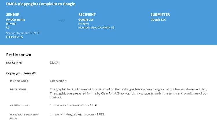 Donna Svei - Lumen DMCA Complaint 3