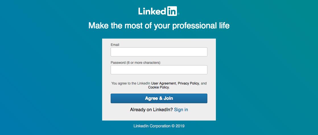 LinkedIn - Executive Job Search Site