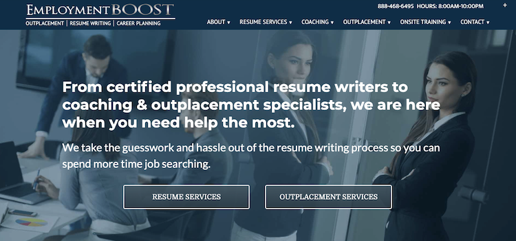 Employment Boost - Best Entry-Level Resume Service