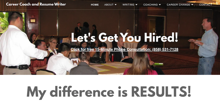 Joe Connor Career Marketing - Best San Diego Resume Service