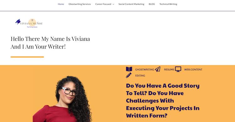 Viviana Munoz - Best Tampa Resume Services
