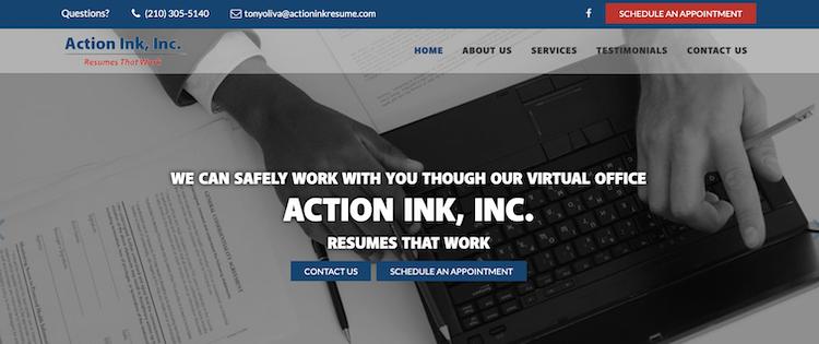 Action Ink Resumes - Best San Antonio Resume Service