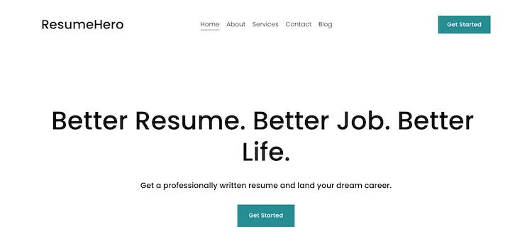 ResumeHero - Best Virginia Beach Resume Services