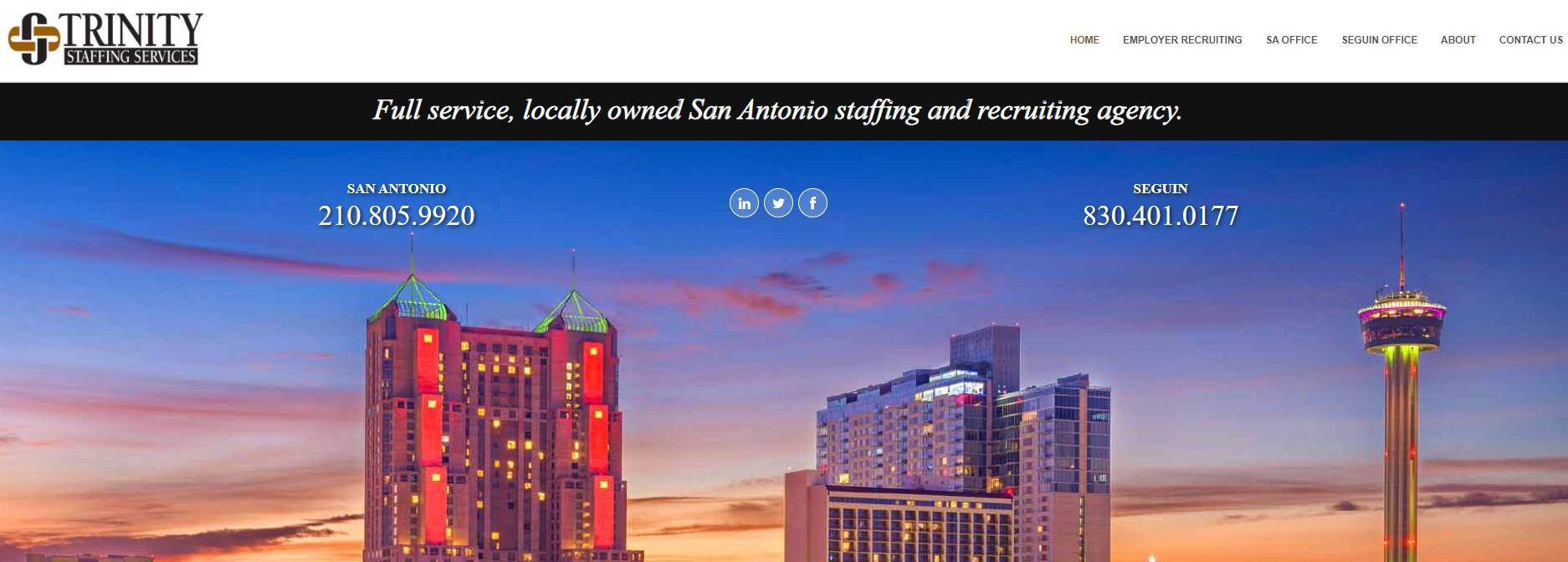 Trinity Staffing - Best San Antonio Staffing Agency