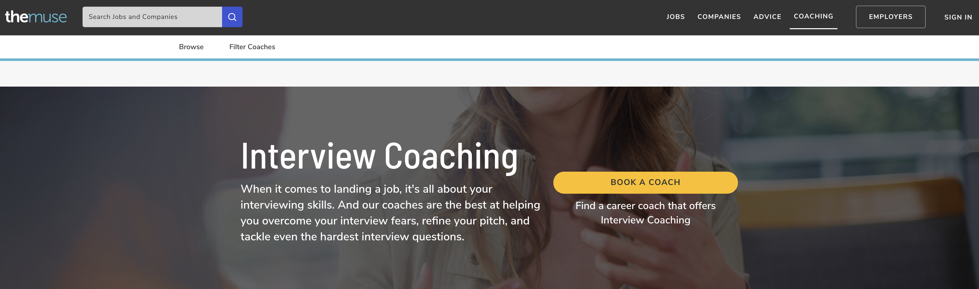 TheMuse Interview Coaching Services