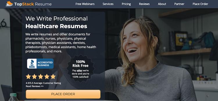 TopStack Resume - Best Charlotte Resume Service