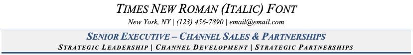 Bad Resume Font (Italic)
