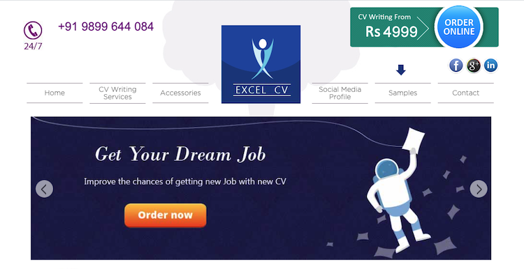 Excel CV - Best India Resume Service