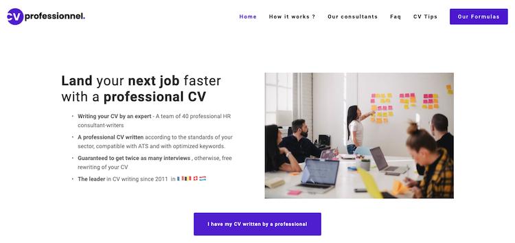 CVprofessionnel - Best Paris Resume Service