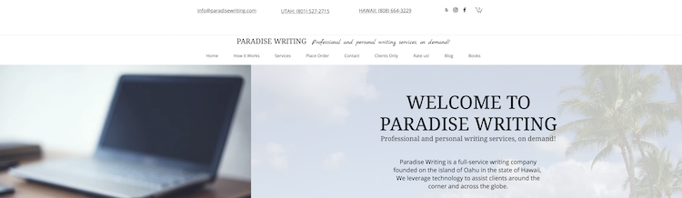 Paradise Writing - Cover Letter Writing Service