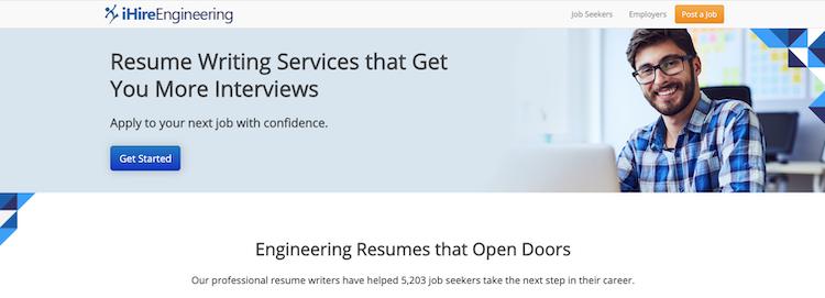 iHireEngineering - Best Software Engineer Resume Service