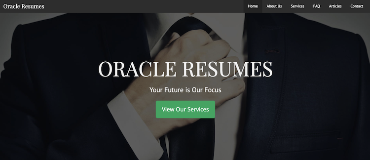 Oracle Resumes - Best Raleigh Resume Services