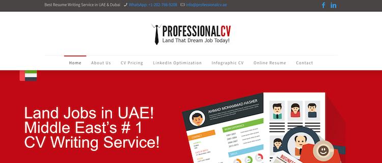 ProfessionalCV - Best Dubai Resume Service