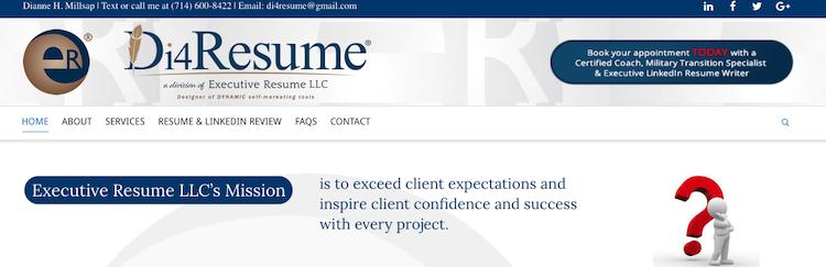 Di4Resume - Sales Resume Service