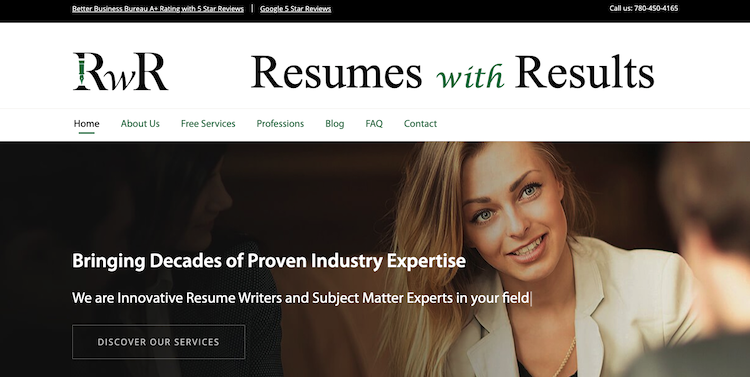Resumes with Results - Best Edmonton Resume Service