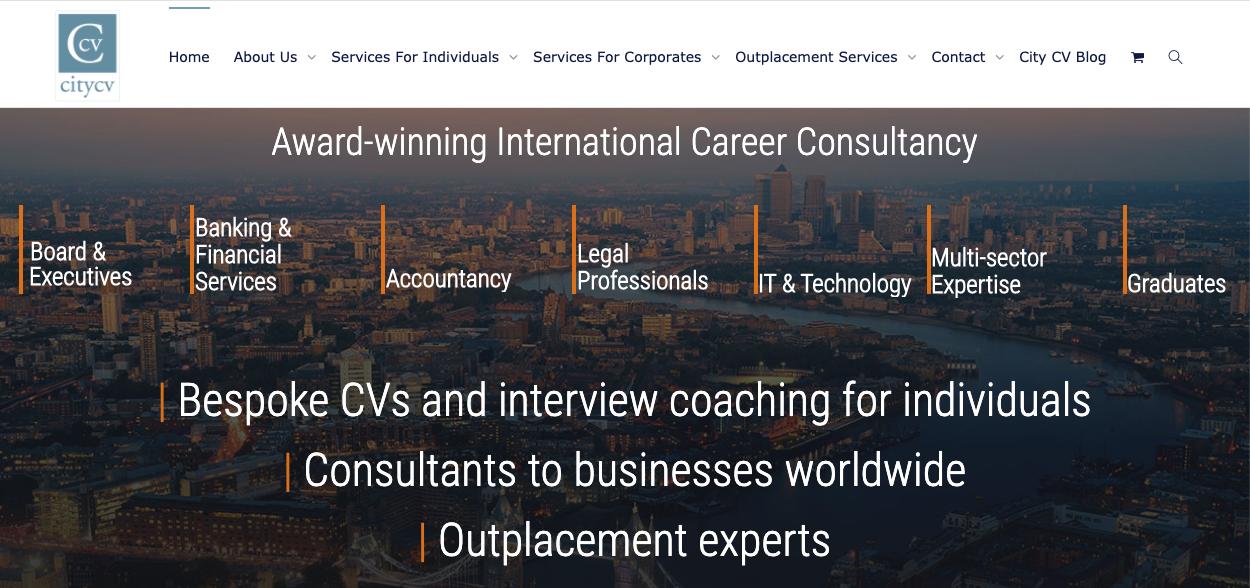 City CV - CV Writing Services UK