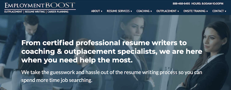 Employment BOOST - Best Fast Turnaround Resume Service