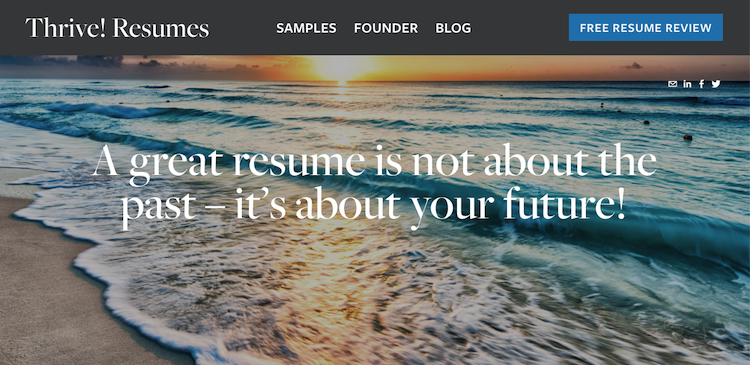 Thrive Resumes - Best Charleston Resume Service
