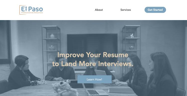 El Paso Professional Resumes - Best El Paso Resume Service