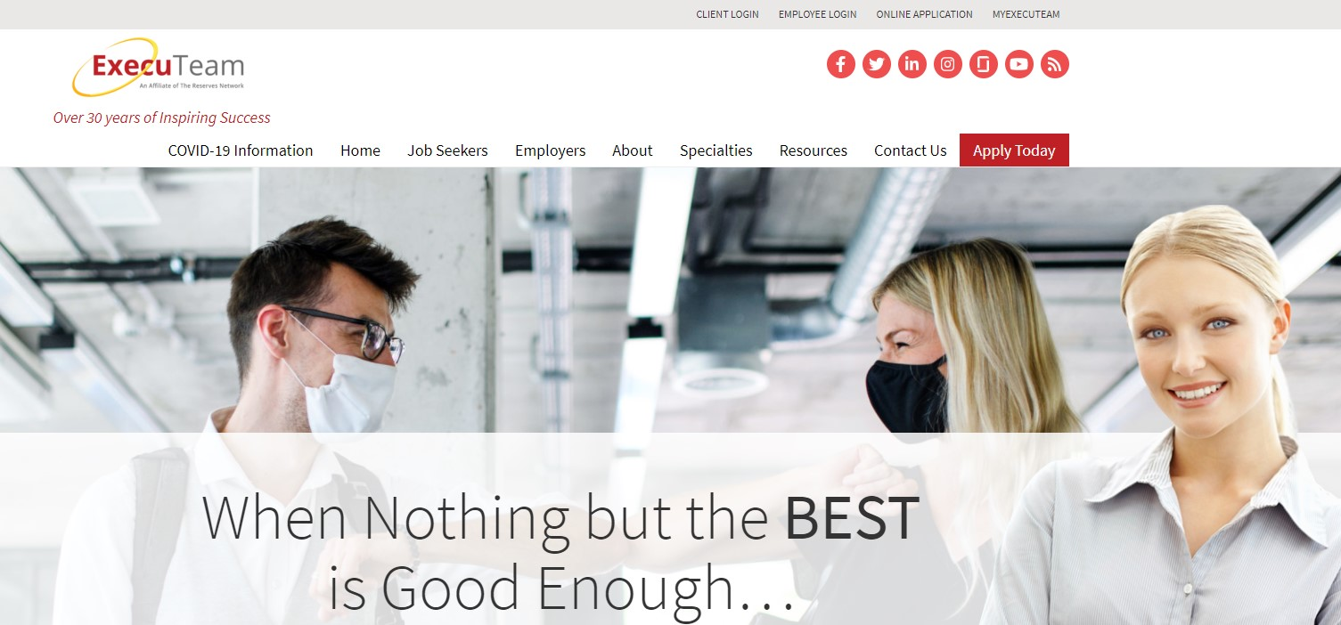 ExecuTeam - Best Staffing Agency