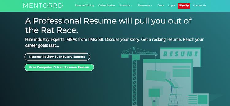 Mentorrd - Best India Resume Service
