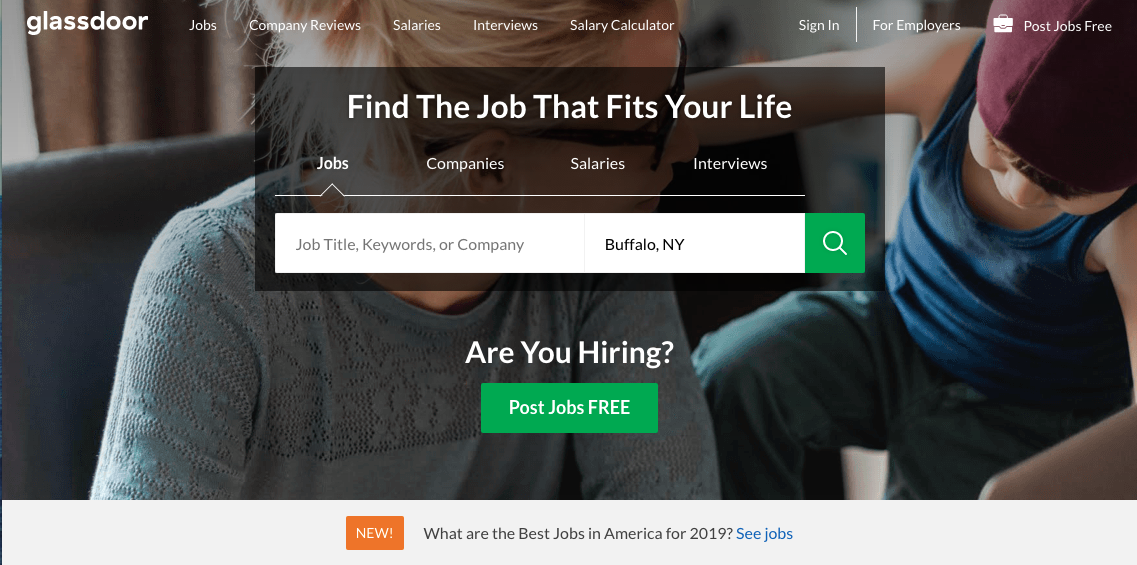 Glassdoor - Executive Job Search Site