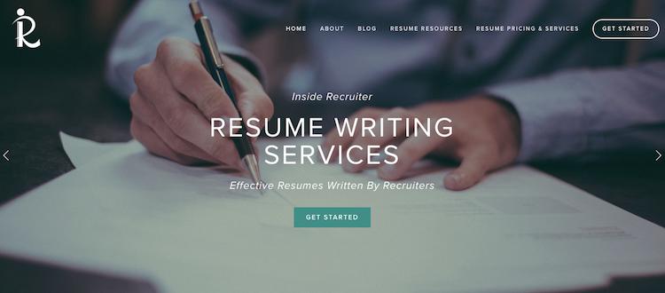 Inside Recruiter - Best Entry-Level Resume Service