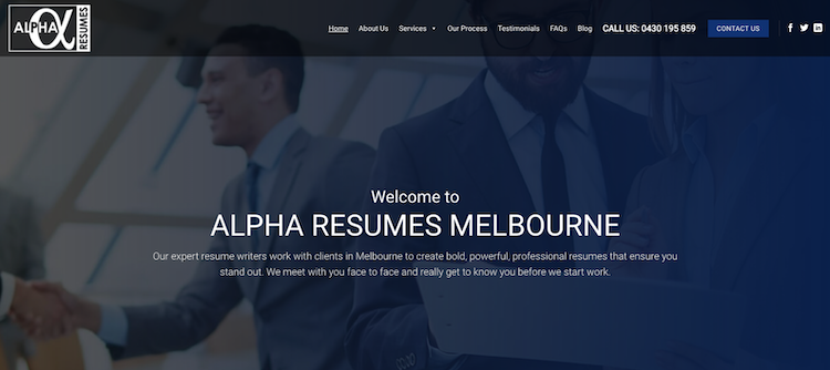 Alpha Resumes - Best Melbourne Resume Service