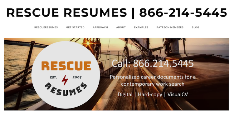 Rescue Resumes - Best Charleston Resume Service