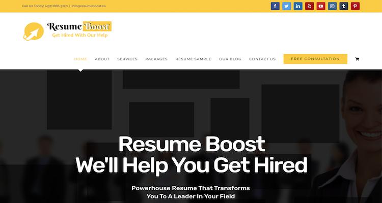 Resume Boost - Best Calgary Resume Service
