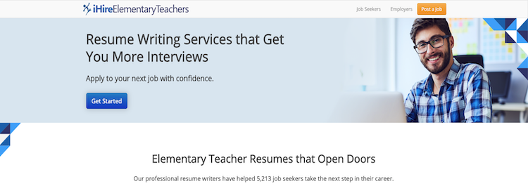 iHire Elementary Teachers - Best Teacher Resume Service