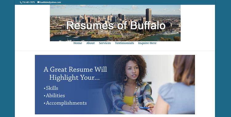 Resumes of Buffalo - Best Buffalo Resume Service