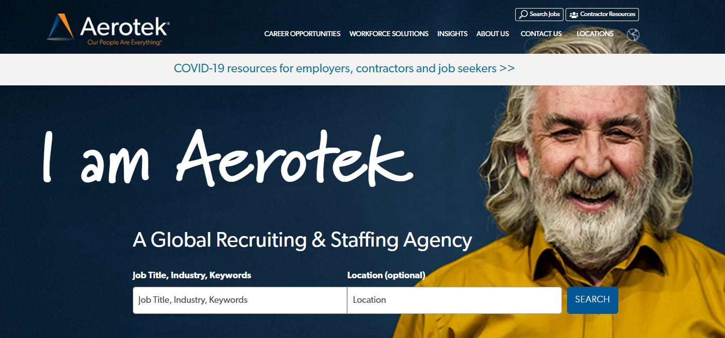 Aerotek - Best Staffing Agency