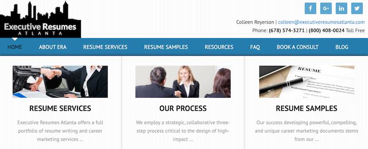 Executive Resumes Atlanta - Best Atlanta Resume Service