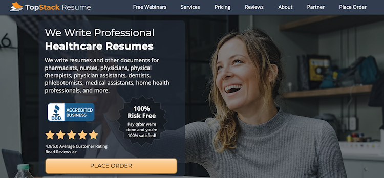 TopStack Resume - Best Healthcare Resume Service