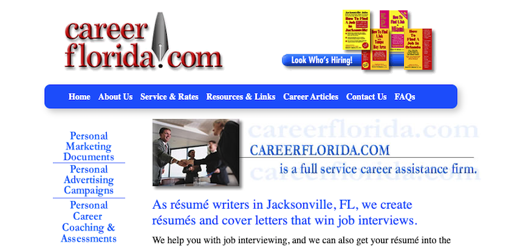 Career Florida - Best Jacksonville Resume Service