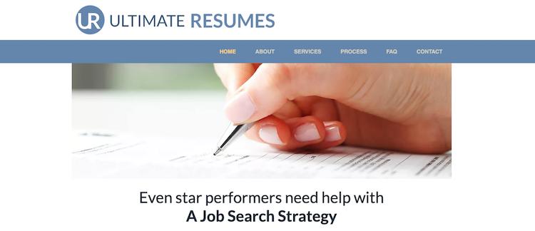 Ultimate Resumes - Best Austin Resume Writers