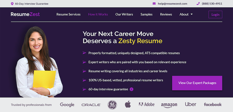 ResumeZest - Best Miami Resume Service