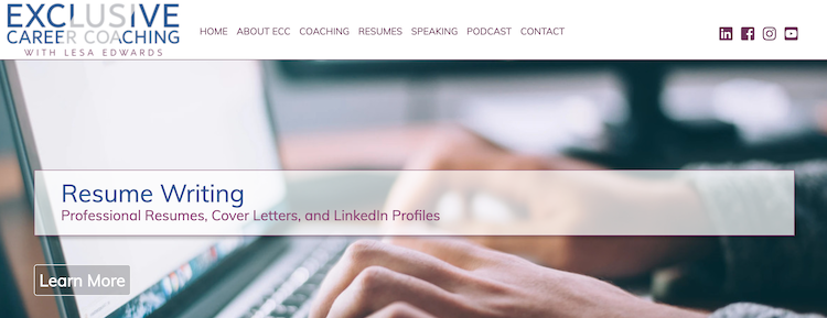 Exclusive Career Coaching - Best CMO Resume Service