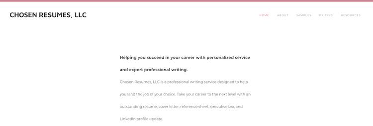 Chosen Resumes - Best Detroit Resume Service