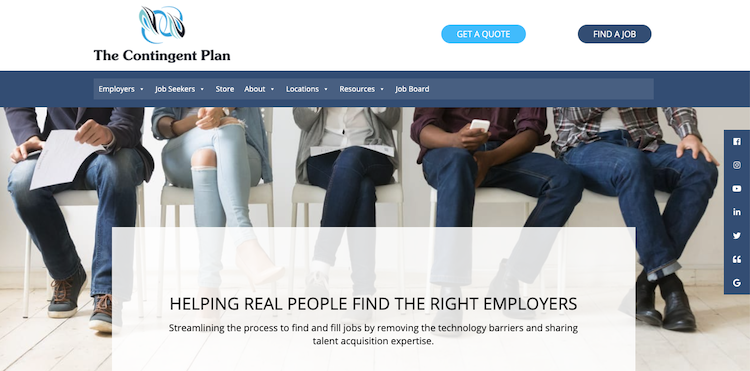 The Contingent Plan - Best Chicago Resume Service