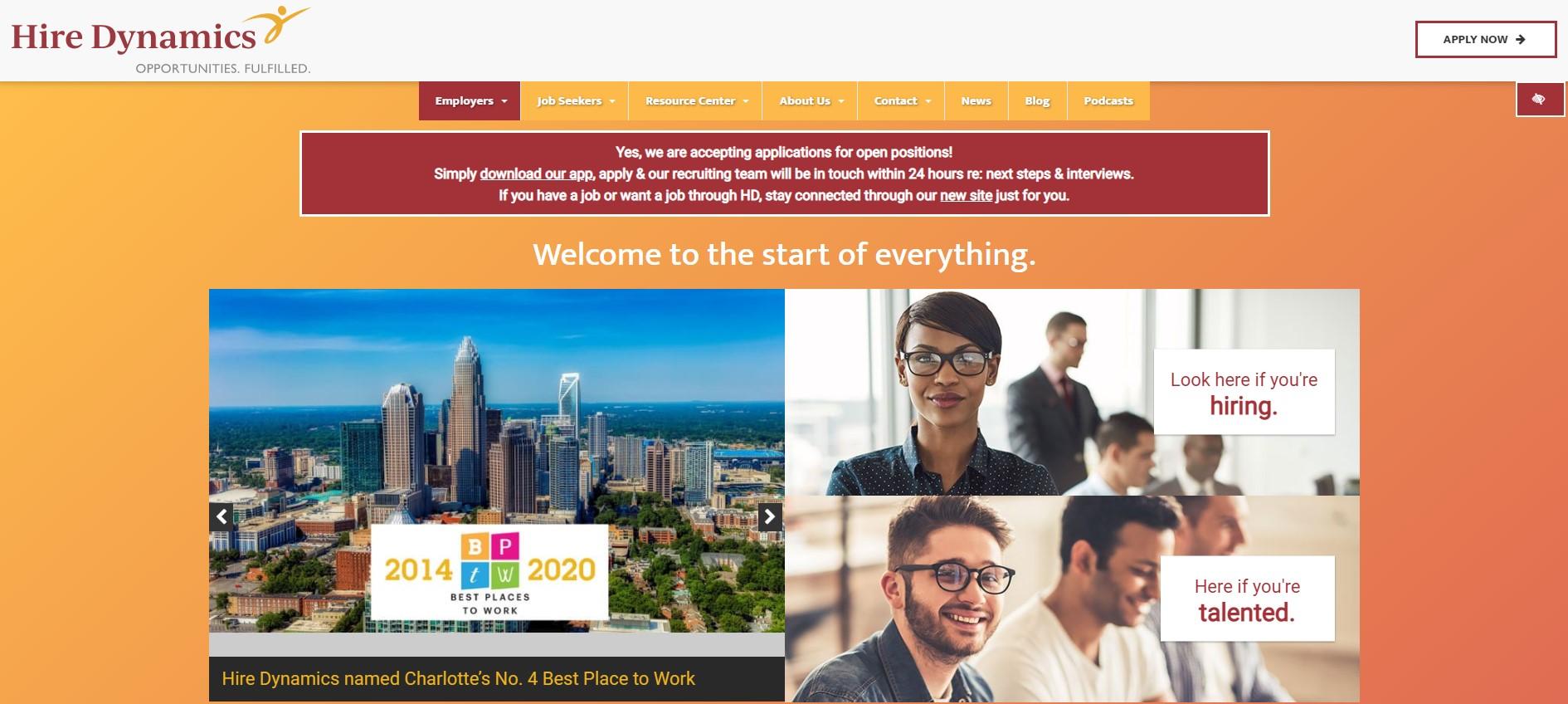 Hire Dynamics - Best Atlanta Staffing Agencies