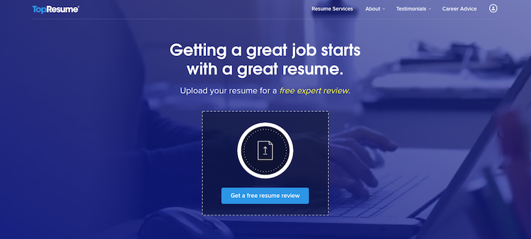 TopResume - Best Entry-Level Resume Service