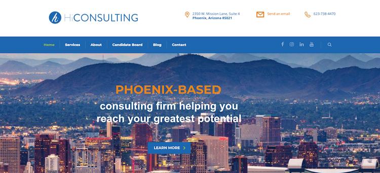 HiConsulting - Best Phoenix Resume Service
