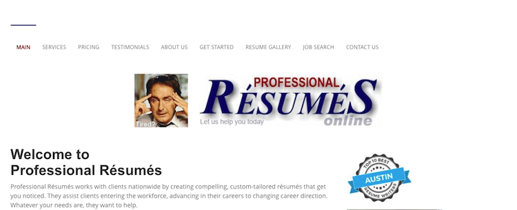 Professional Resumes - Best Austin Resume Writers