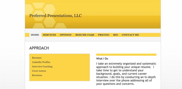 Preferred Presentations - Best New Jersey Resume Service